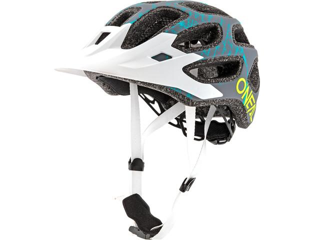7693c20dacc49 ... ONeal Thunderball 2.0 casco per bici Fusion grigio bianco. ONeal  Thunderball ...